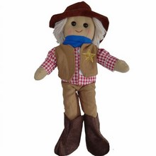 Large Boy Cowboy Rag Doll